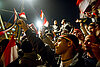 In Egypt's Tahrir Square, celebration grinds to a halt with Mubarak's speech