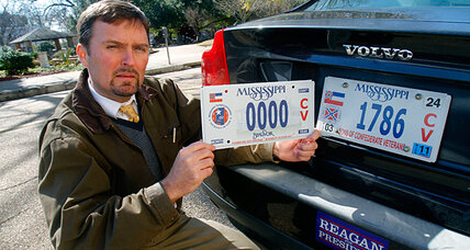 KKK leader on specialty license plates? Plan in Mississippi raises hackles.