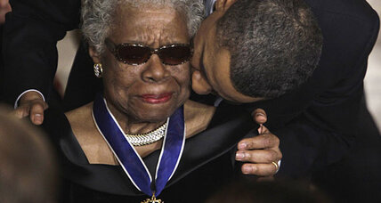 Maya Angelou, George H. W. Bush among those who received Medal of Freedom