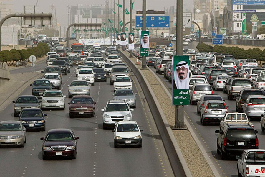 Image result for traffic in saudi arabia