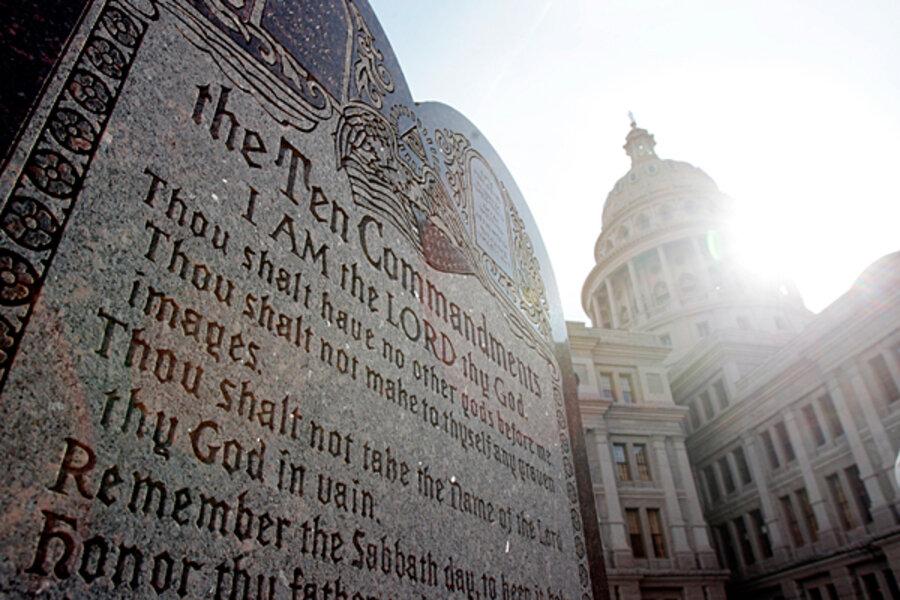 Supreme Court Refuses Appeal About Ten Commandments