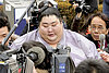 Sumo wrestlers knocked down by scandals