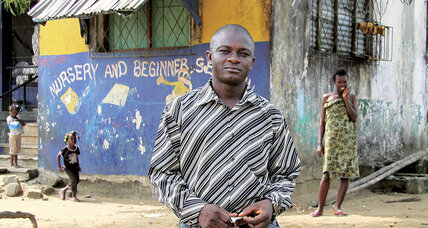Pewee Flomoku saw Liberia's child soldiers through a camera lens. Now he promotes peace