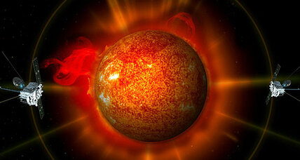 3D sun images provide early warning of hazardous space weather