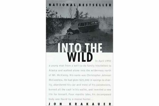 an intertwine of the environment in the book into the wild by jon krakauer Merkley, wyatt, literary amplification: jon krakauer's use of intertextual references in into the wild and their role in the book was released, a small number of non-alaskans and tourists began to undertake the journey to visit bus 142 by intertwining some of the greatest literary adventure stories of all time with his.