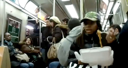 Subway spaghetti video sparks transportation etiquette debate