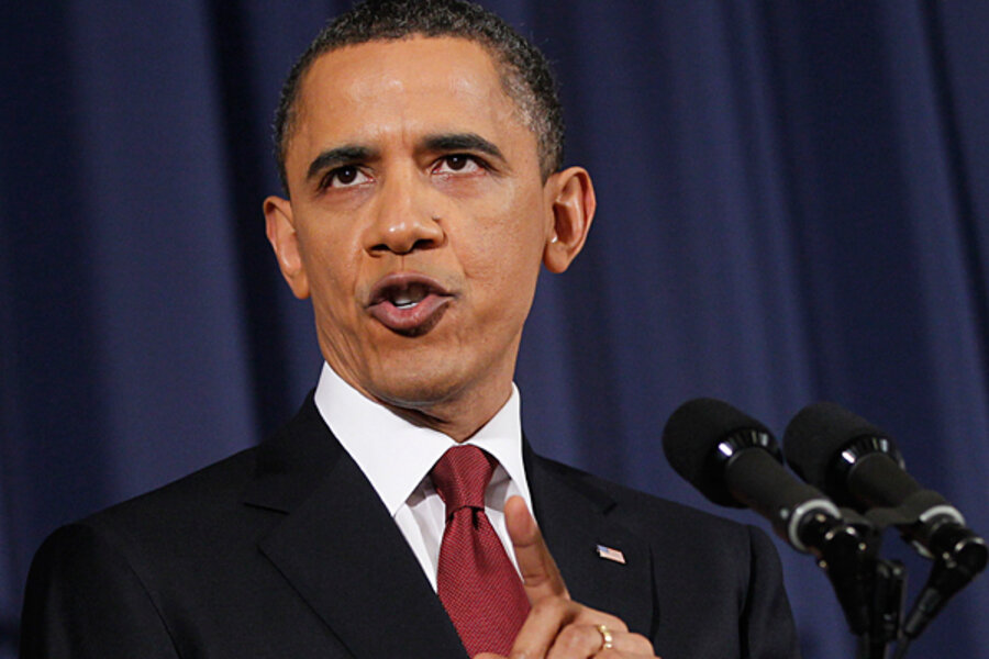 Fact checking Obama's Libya speech