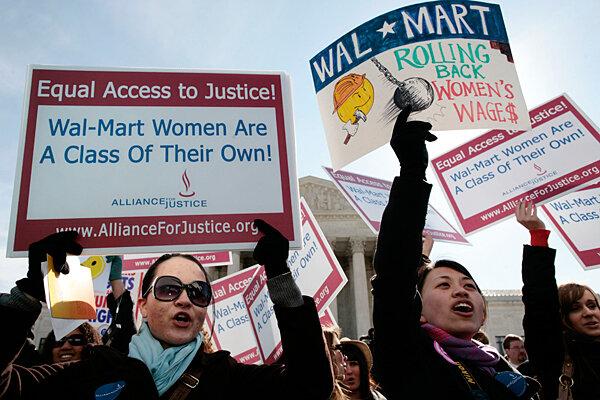 walmart sex discrimination decision in Warren