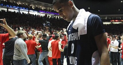 BYU basketball player suspended: sports world shocked – and impressed