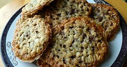 National Lacy Oatmeal Cookie Day