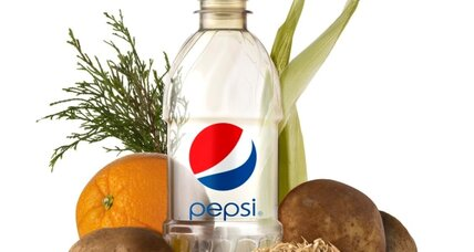Pepsi bottles: no more plastic