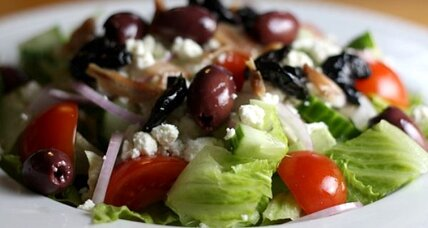 Mediterranean diet: Greek salad