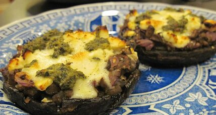 Meatless Monday: Stuffed portobello mushrooms