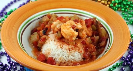 Mardi Gras 2011: Louisiana shrimp creole