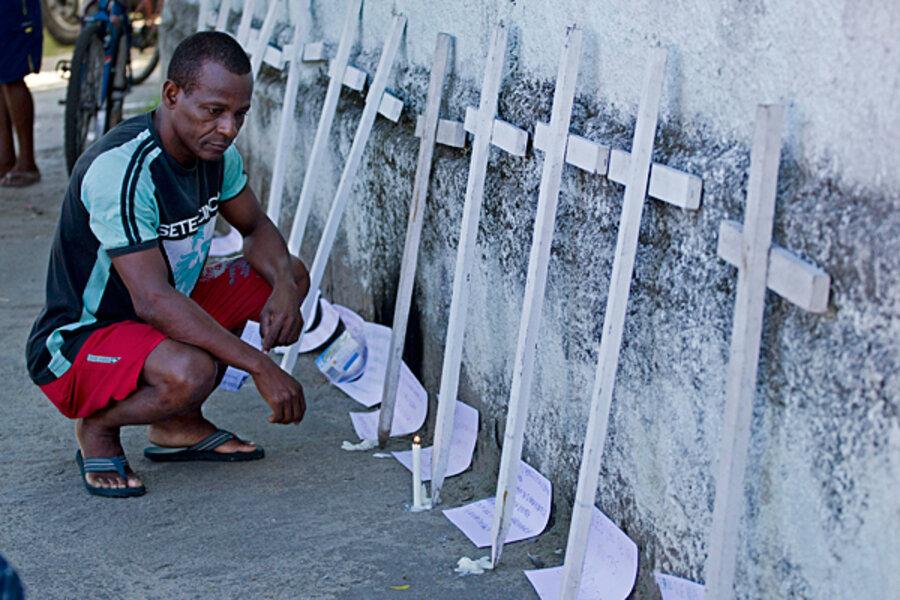 Brazil school massacre puts spotlight on gun violence, rising firearm sales - CSMonitor.com