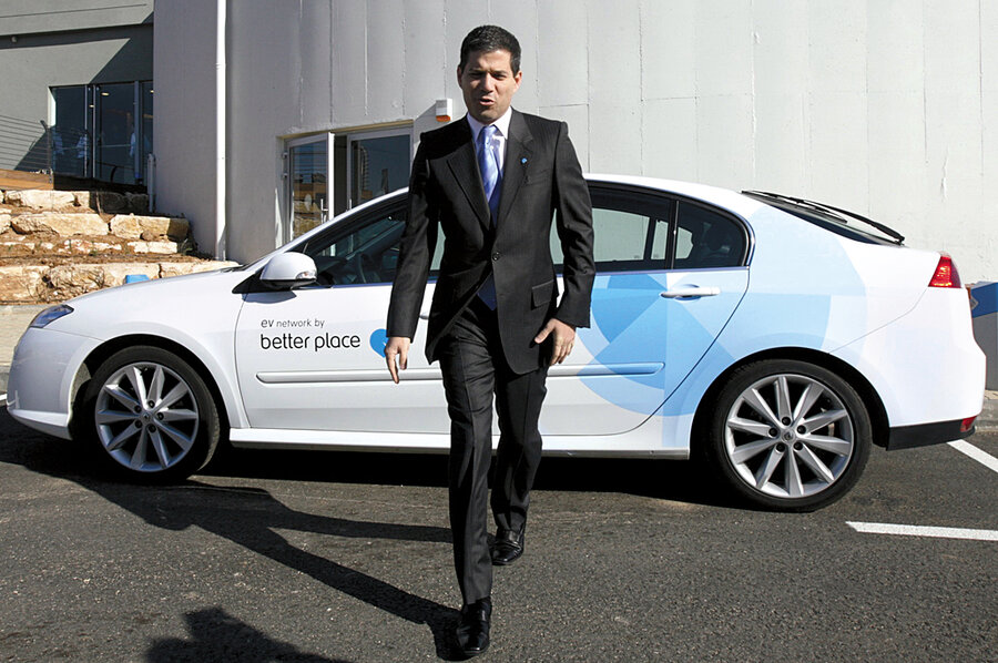 39d1864b6e Better Place  Turning Israel into electric car country - CSMonitor.com