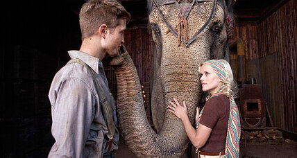 Reese Witherspoon and Robert Pattinson star in 'Water for Elephants'