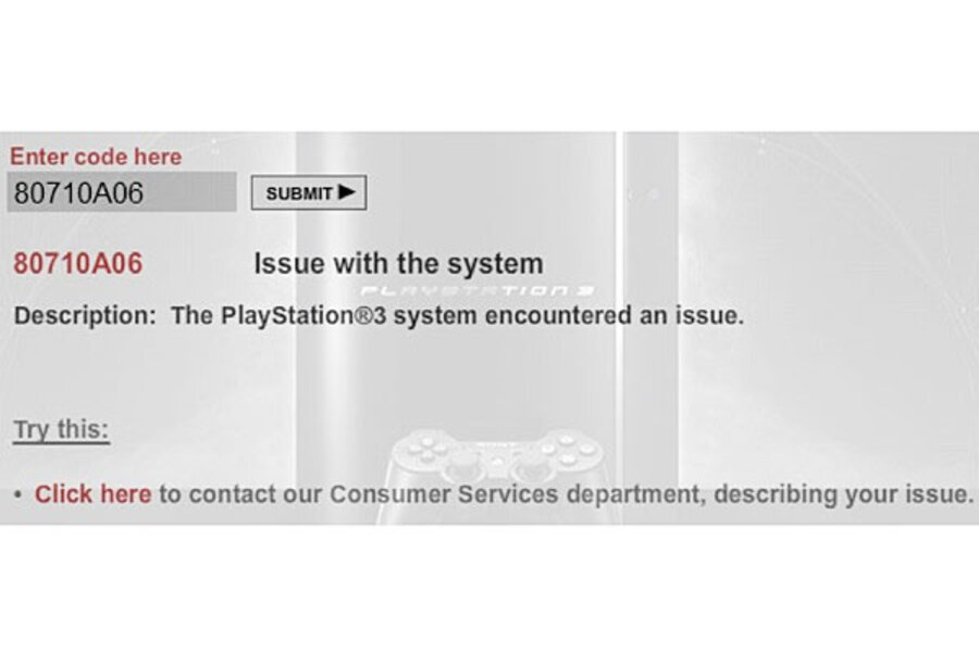 PlayStation network down after launch of several new games