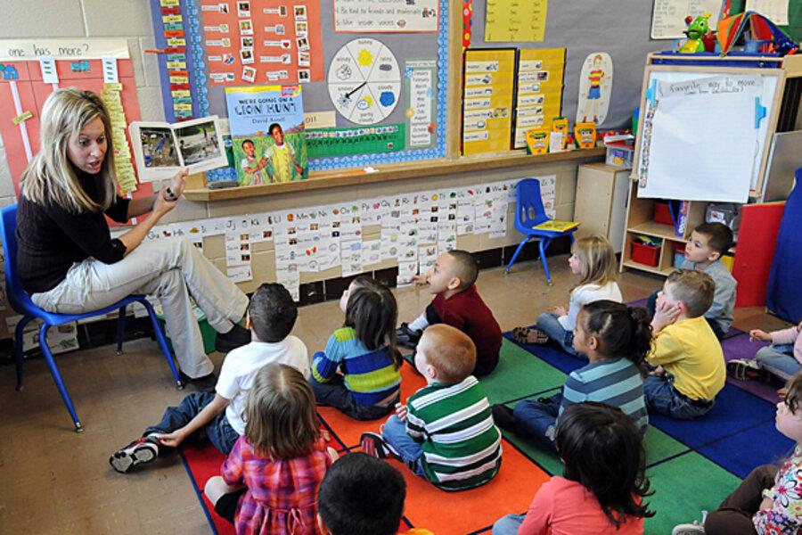 Preschool programs not spared as strapped states cut for Actividades para el primer dia de clases en el jardin