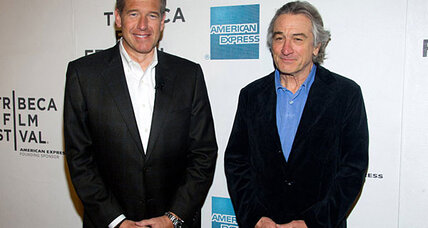 Robert De Niro: awkward interview with Brian Williams