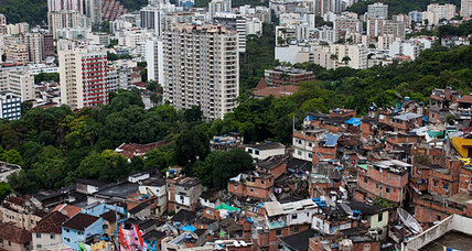 Rio's shantytowns shrink – on Google Maps, at least