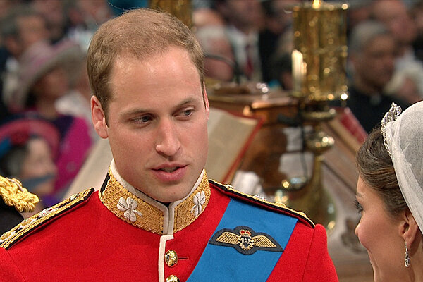 0429 Britain Royal Wedding prince william - British Prince William Kate Middleton