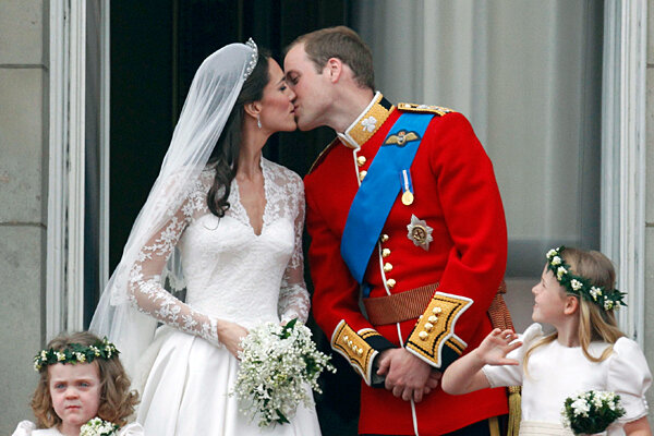 Prince William now wedded to his 'beautiful' Catherine
