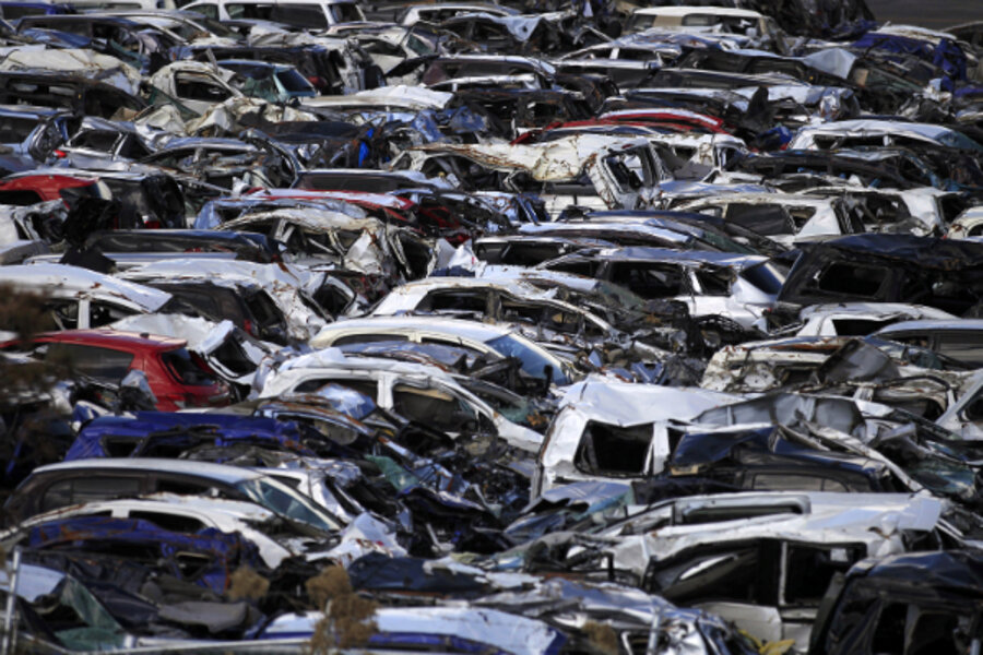 Cars After Japan S Quake Toyota Nissan And Honda Plan To Restart
