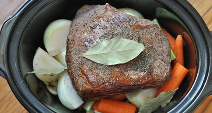 Sunday slow cooked pot roast