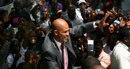 Five tasks for Haiti's new pop-singer president