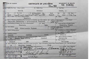 Obama's long-form birth certificate: proof too late? - CSMonitor.com