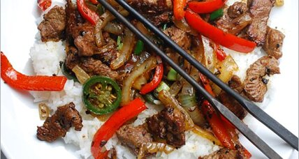 Chinese lamb with cumin
