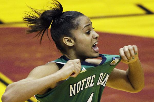 Diggins Notre Dame Basketball Notre Dame's Skylar Diggins