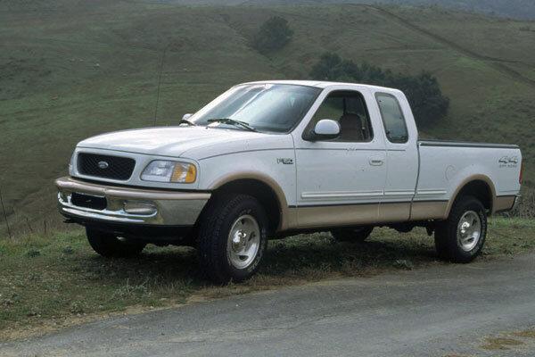 a 1997 Ford f 150 Pickup Truck
