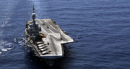 Aircraft carriers gain naval clout