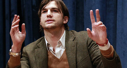 Ashton Kutcher replaces Charlie Sheen on Two and a Half Men