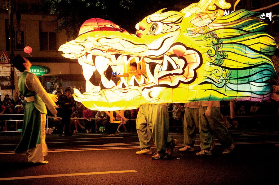 South Korea Lights Up For Buddha S Birthday Csmonitor Com