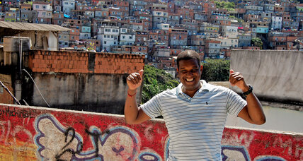 'Tinha' Carvalho uses martial arts to show kids from Rio slums a wider world