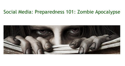 Zombie apocalypse CDC campaign crashes website