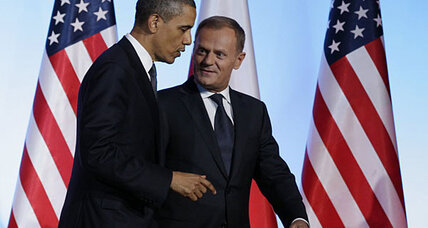 Obama highlights Poland as model for a changing Middle East