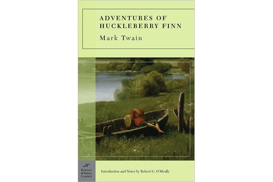 a character and plot analysis of the adventures of huckleberry finn by mark twain