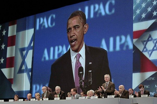 Image result for obama vs aipac