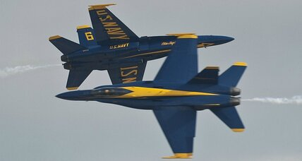 Blue Angels flight leader relieved of command for flying too low