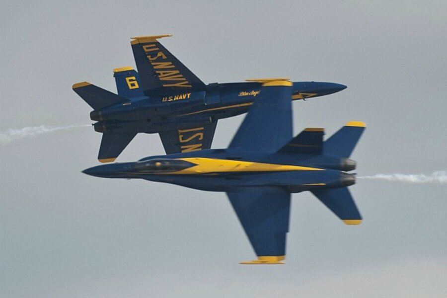 beb6903ff75 Blue Angels flight leader relieved of command for flying too low ...