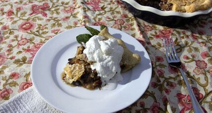 Kentucky Derby chocolate pecan pie