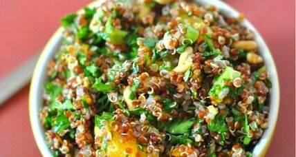 Quinoa orange ginger salad