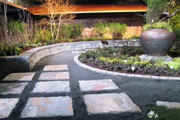 An Unusual Idea Is To Use A Formal Water Garden As Rain Catch Runoff From The House And Landscape