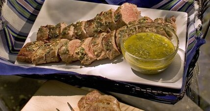Memorial Day grilling: pork tenderloin