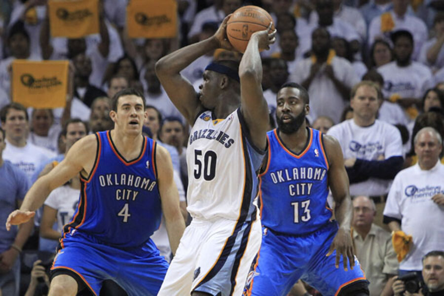NBA playoffs: Grizzlies, facing Thunder tonight, are ...