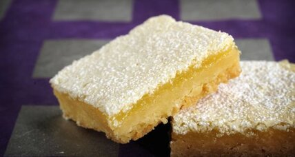 Perfectly simply lemon bars